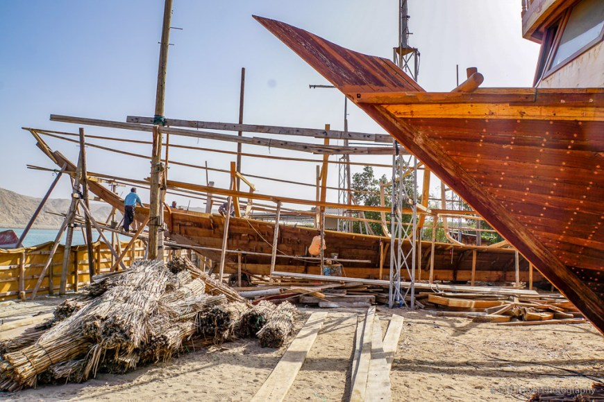 the dhow yards near Sur, Oman