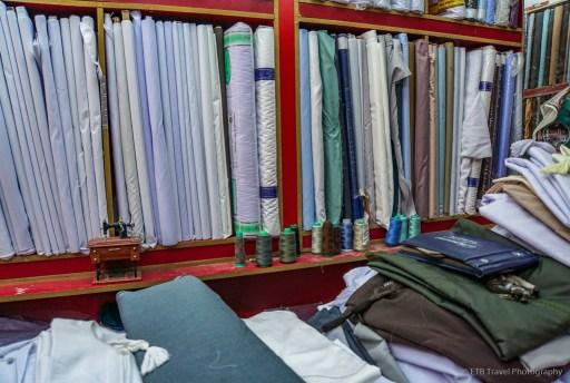 dishdasha store at nizwa souq