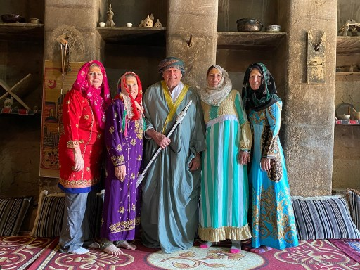 dressed up at bait al safah