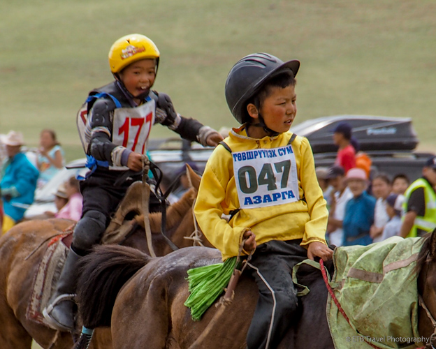 horse racer at naadam