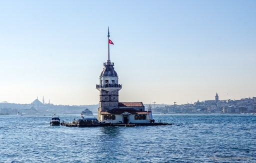 Maiden's Tower in Üsküdar