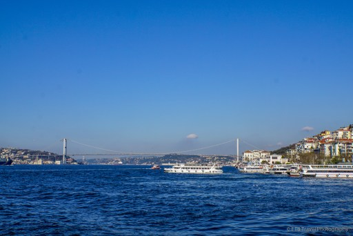 view of the Bosphorus from Üsküdar