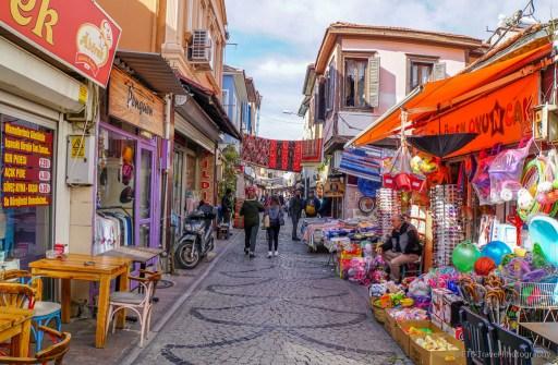 market in Ayvalik
