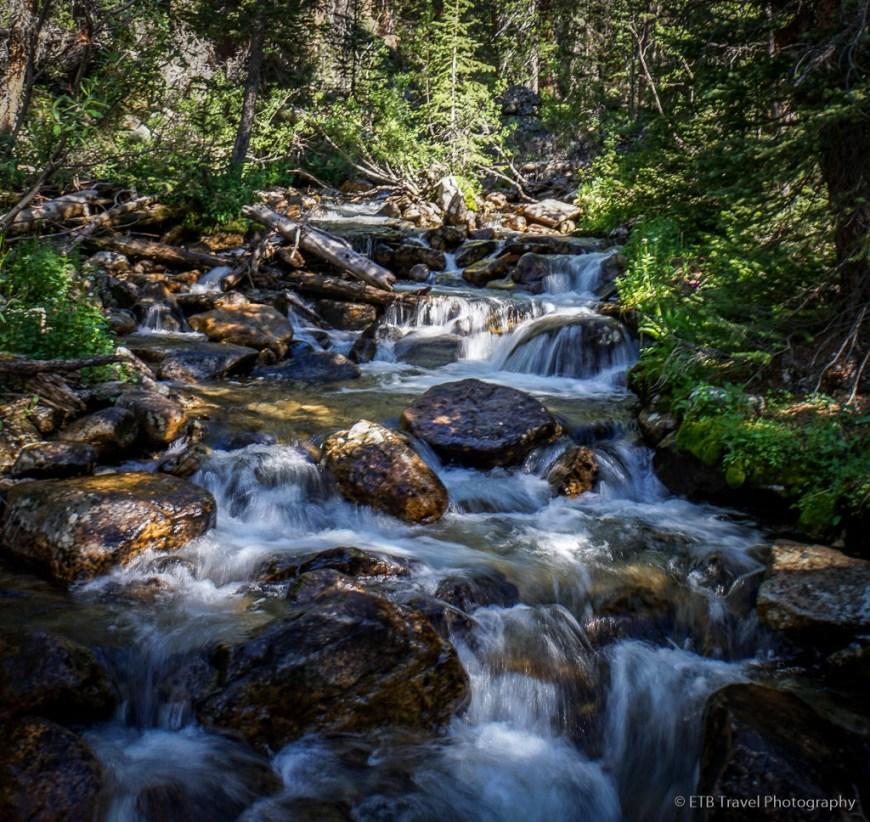 creek on kroenke lake trail
