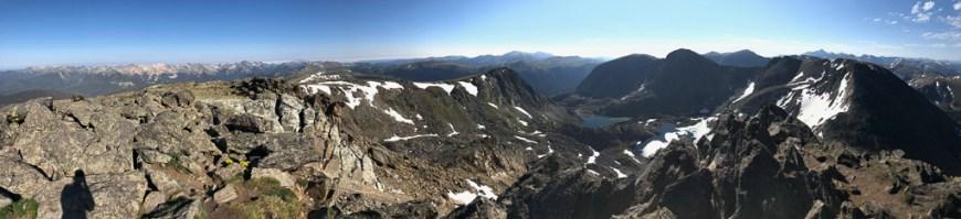 panoramic view of mount ida