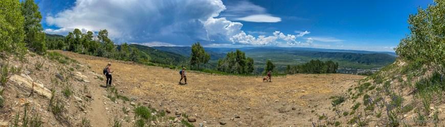 Beginning of Thunderhead Trail