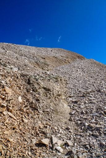 trail on Mt. Sherman