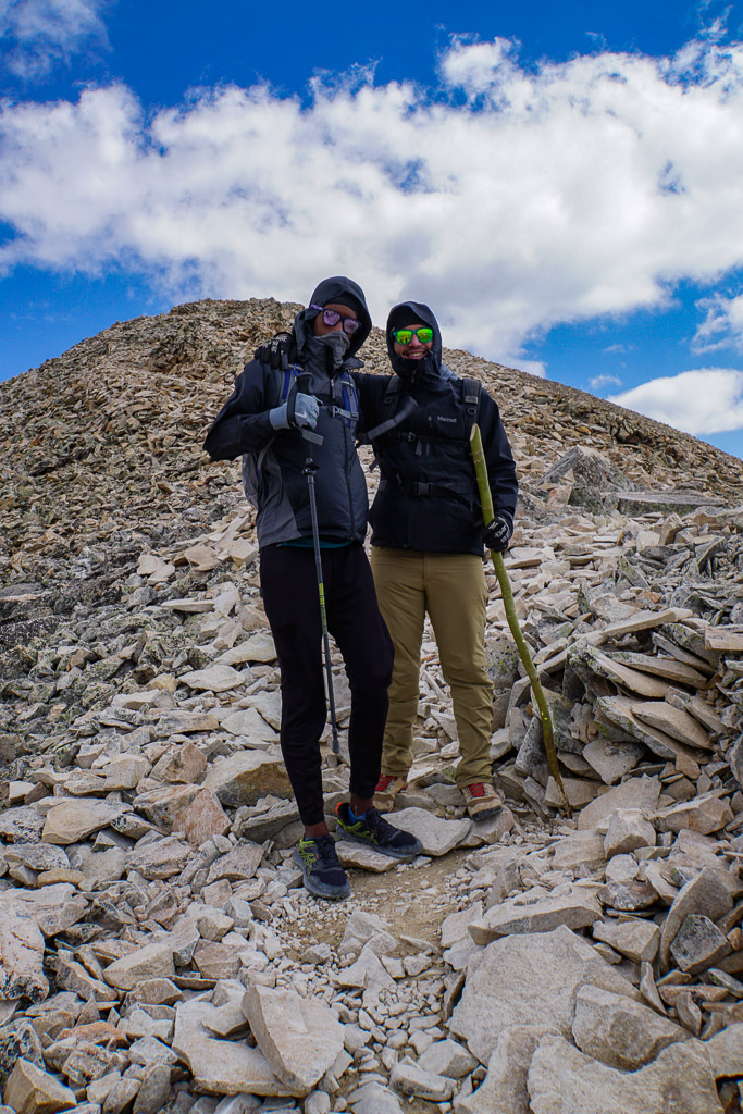 flatlanders on a mountain