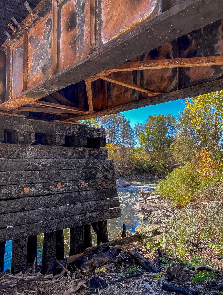 bridge on the platte river trail