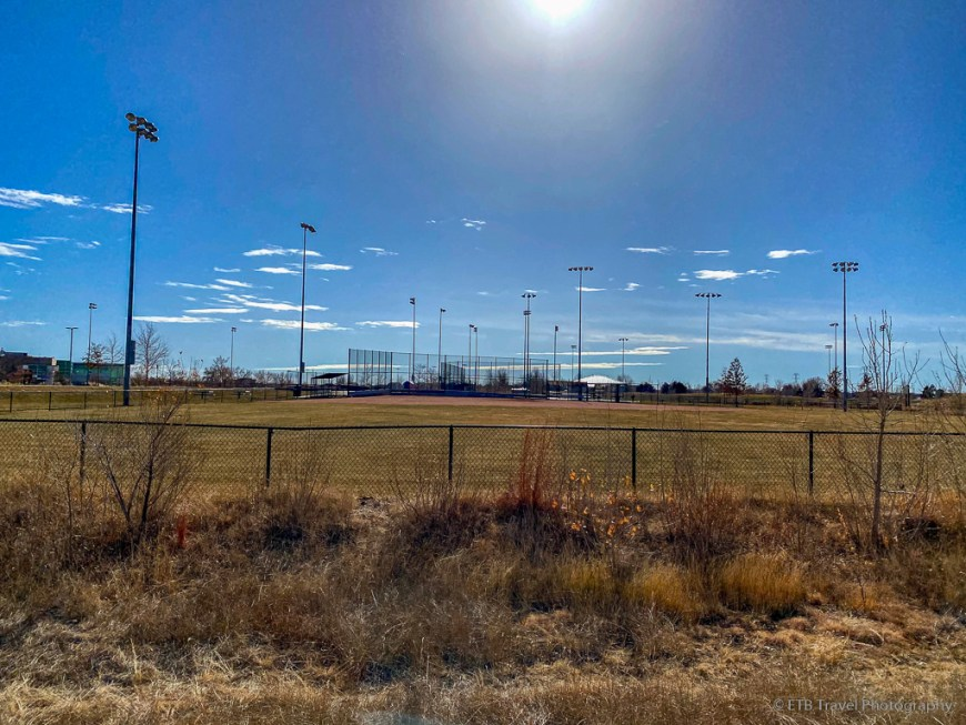 sports fields at parkfield lake park