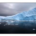 photographic note card, iceberg in Antarctica