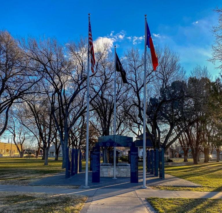 Veteran's Memorial Park in Dalhart