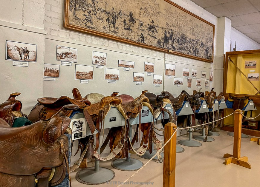 saddles at xit museum