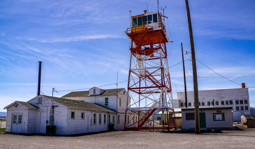 office and control tower at wendover airfield