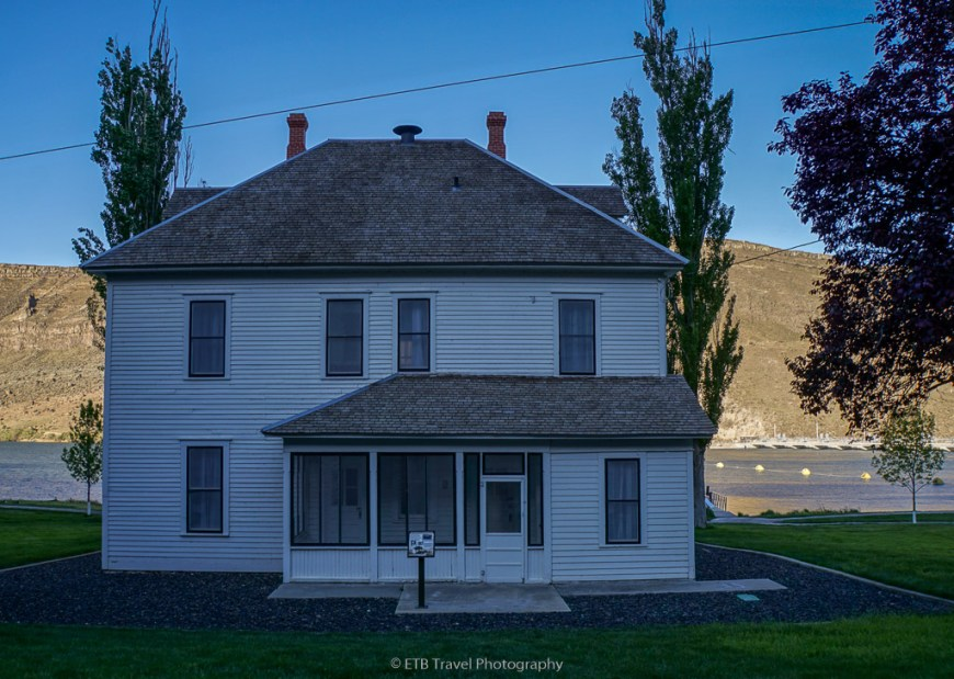old boarding house at Morley Nelson Snake River Birds of Prey NCA