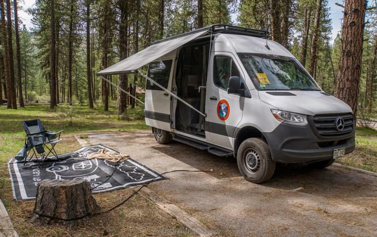 vango at grayback gulch campground