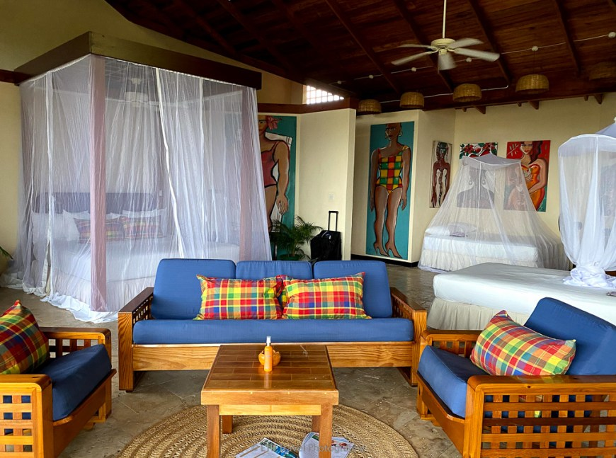 room at anse chastenet