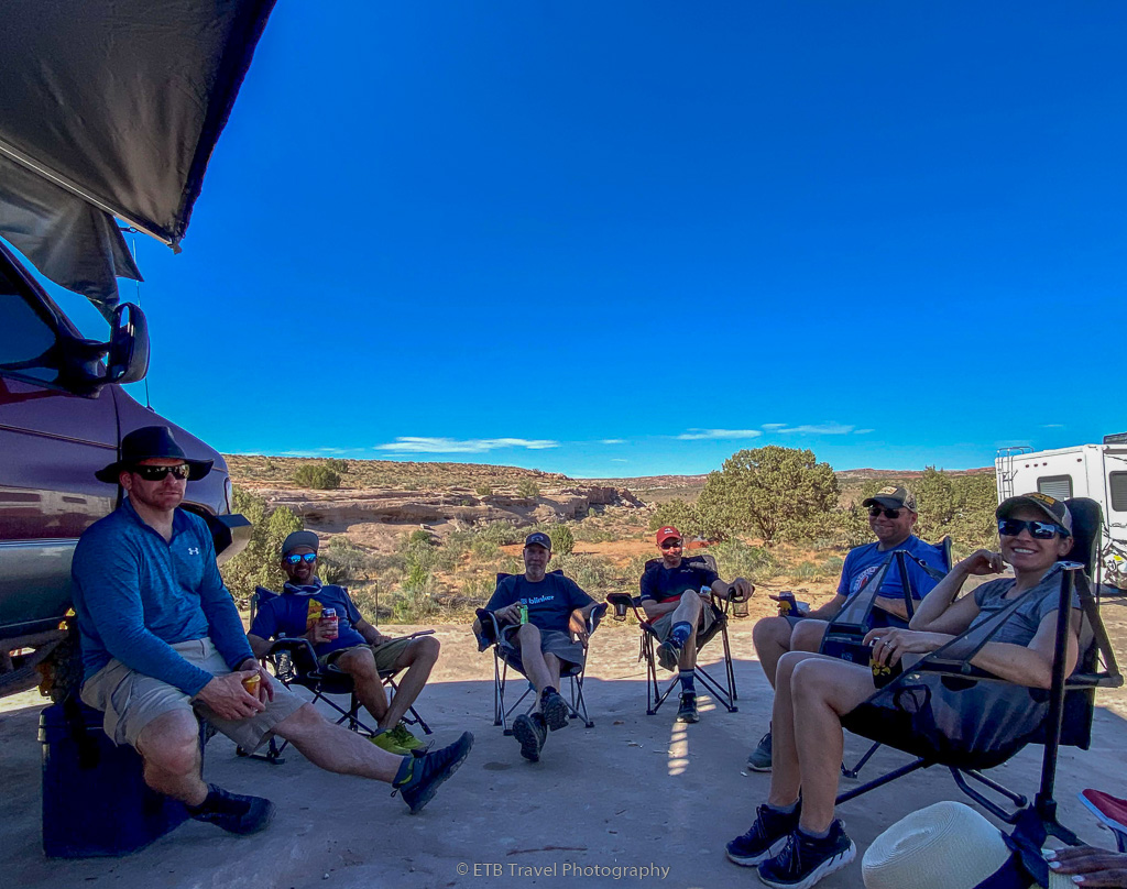camping on Willow springs road