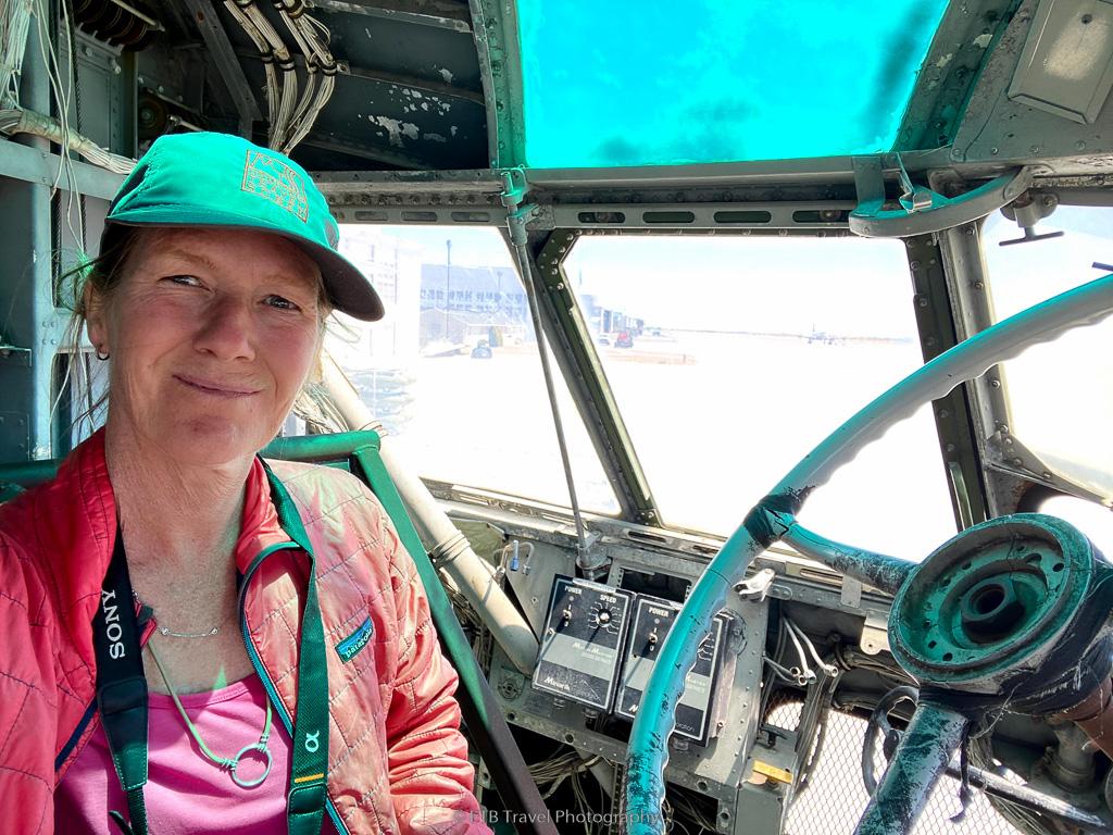 me in the con air plane
