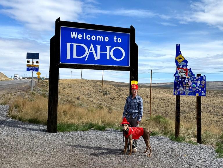 Idaho state sign challenge