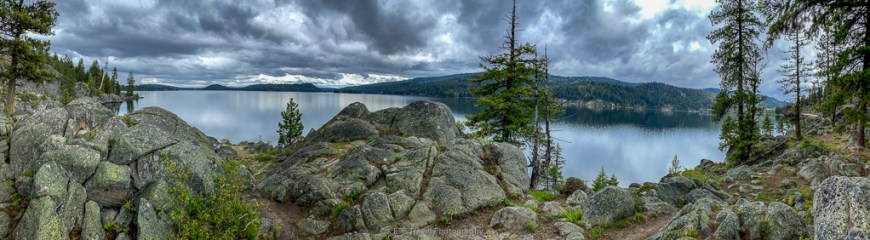 view of payette lake near mccall
