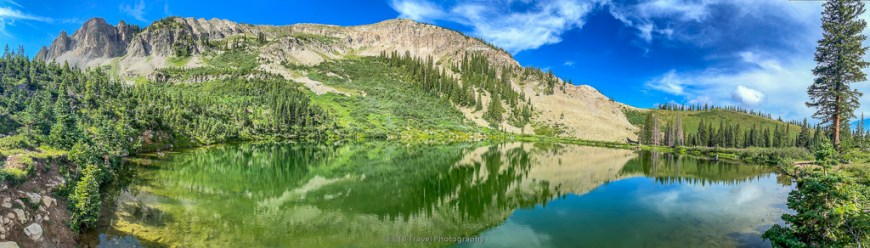 green lake in crested butte