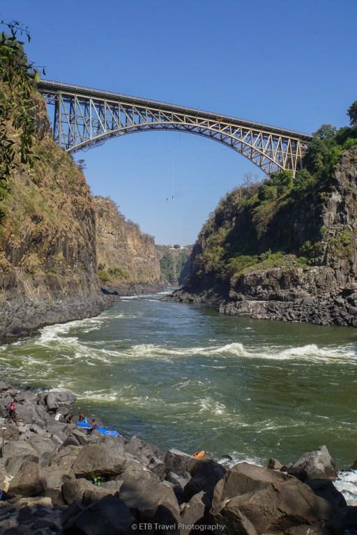 victoria falls bridge over the second gorge