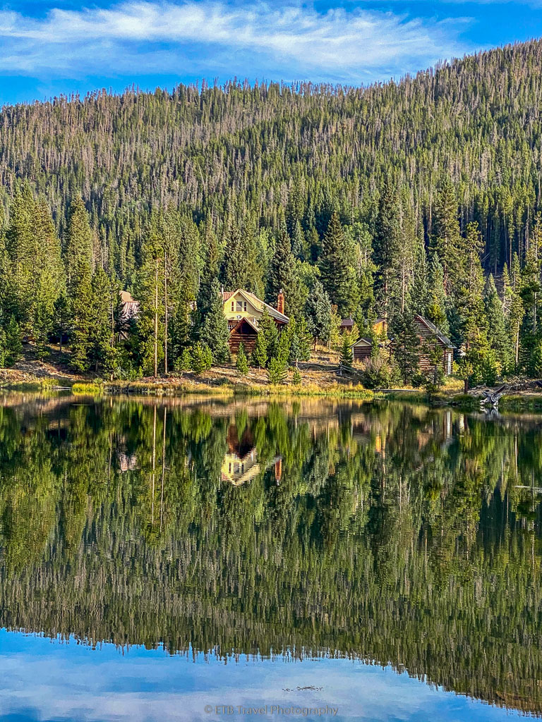 reflection in ranger lakes