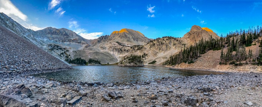 lake agnes in state forest state park