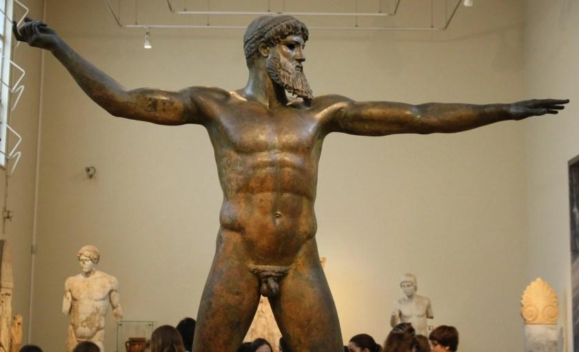 The Aretemisum Poseidon (or Zeus), c. 460 BCE. National Archaeological Museum, Athens.