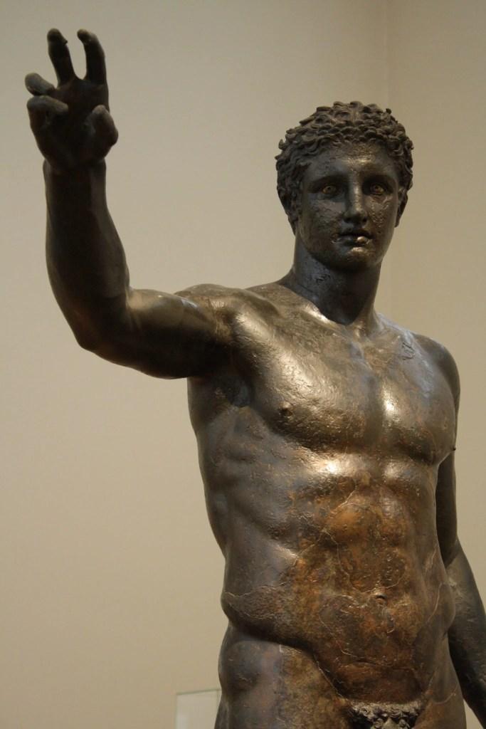 The Antikythera Youth, c. 340 BCE. National Archaeoloigical Museum, Athens.