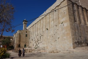 The Tomb of the Patriarchs in Hebron is holy to all three monotheistic religions. (photo credit: Rick Steves/Rick Steves' Europe)