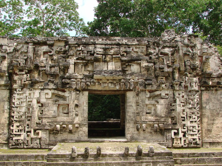 Chicana Structure with Mask © Jim O'Kon
