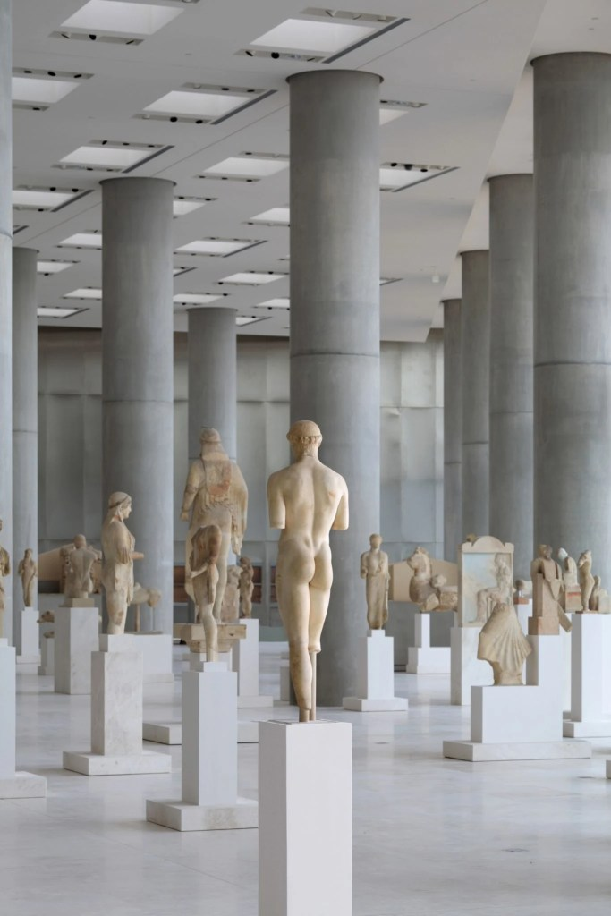 A Sea of Archaic Statues.