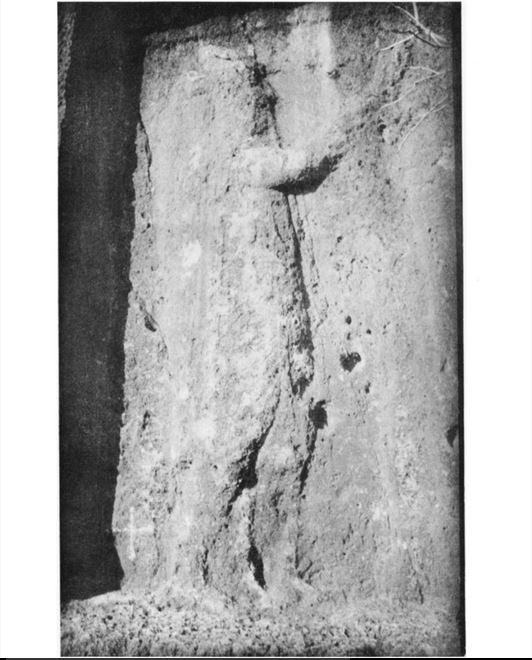 "Scanned copy of ""Batas relief."" Source: C. J. Edmonds. ""A Third Note on Rock Monuments in Southern Kurdistan."" Geographical Journal 77, 1931, pp. 350-55."