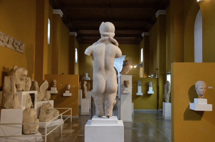 Hall of the sculptures, Cyprus Museum, Nicosia