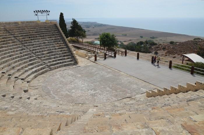 The Roman theatre, Kourion