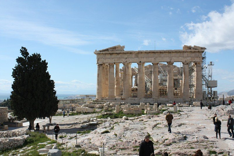 Traveling Greece: Athens-Acropolis