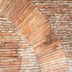 Look at this brickwork we saw during our Rome visit!