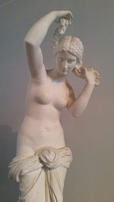 "Aphrodite Anadyomene (""Aphrodite Rising from the Sea"") as seen during our Rome visit"