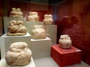 Cache of figures from Hagar Qim. Photo © Garry Shaw.