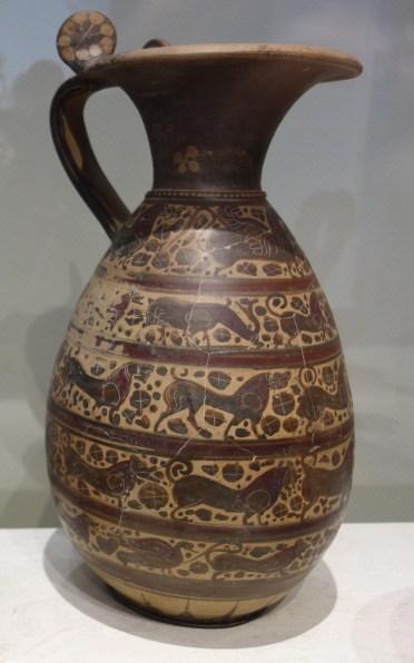 Etruscan imitation of Corinthian pottery