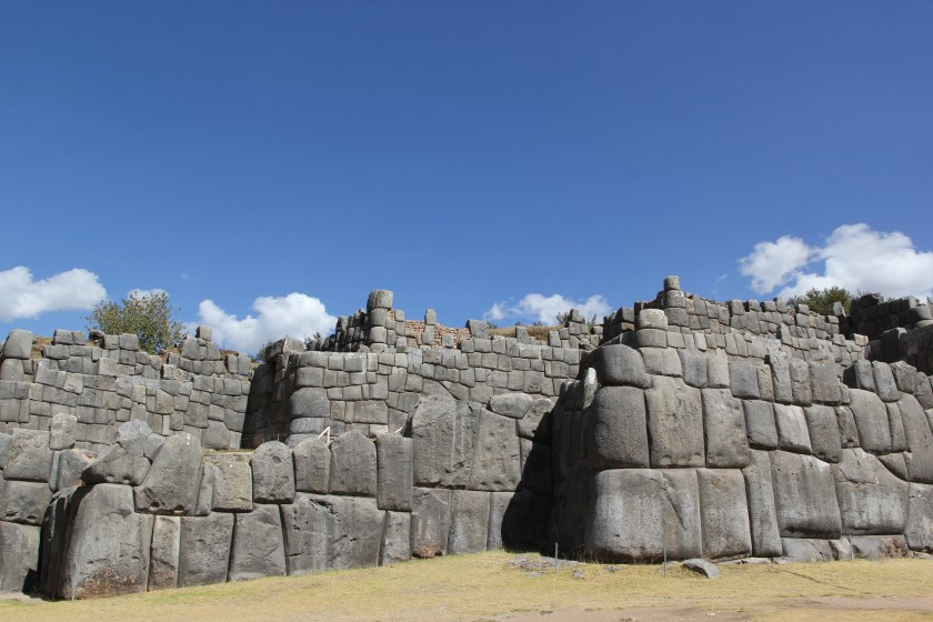Megalithic Inca architecture at Sacsayhuaman, located in the hills above Cusco. Photo © Caroline Cervera.