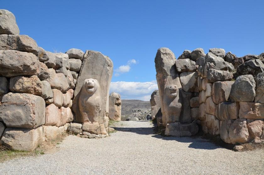 Hittite city of Hattusa today.
