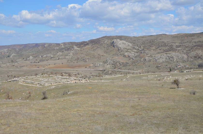 The Temple District in the Upper City. 24 different sacred buildings have been identified, they vary greatly in dimensions. Hittite