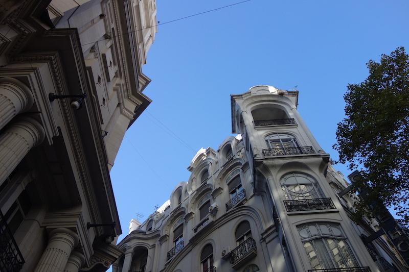 Exemple du mélange architecturale de la ville