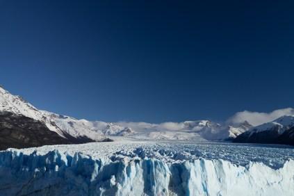 Le glacier vu de haut mais différemment.