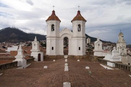 Sur le toit du couvent Neri