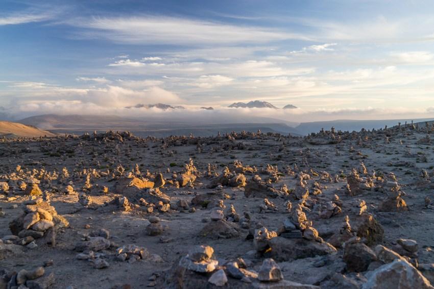 Au Paso de Patomama - 4 900 m d'altitude.