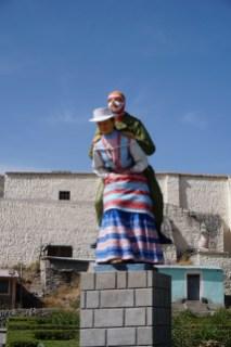 La statue la plus bizarre de tous les temps.